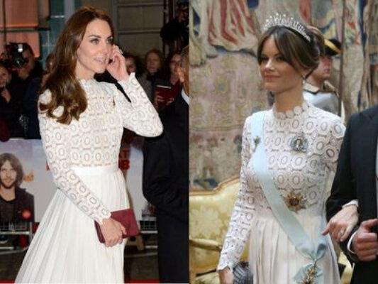 Кейт Миддлтон: принцесса София копирует стиль герцогини Кембриджской, пишет пресса