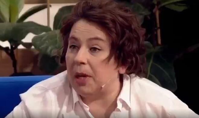 Мама Саши Черно впервые пришла на телевидение в шоу Бородина против Бузовой