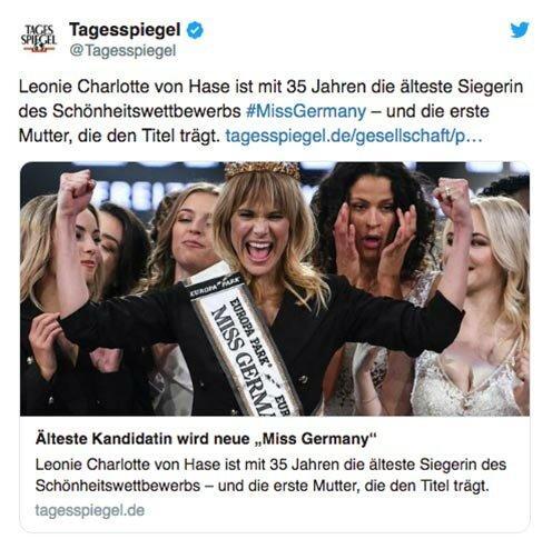 Мисс Германия–2020: кто получил звание самой красивой немки в этом году?