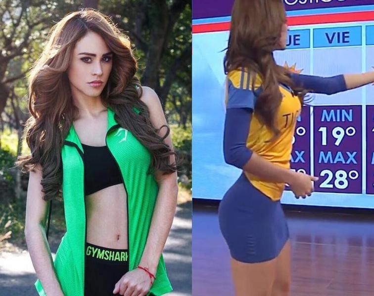Мексиканская «Метеодевочка» – Янет Гарсия, ведущая прогноза погоды, фотомодель, блогер и фитнес тренер