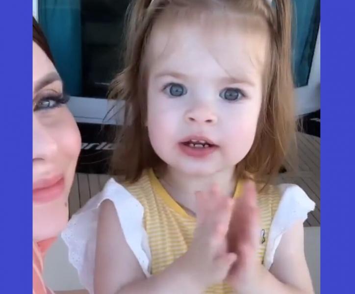Поклонники телестройки очень удивлены видеозаписью, на которой дочь Ольги Рапунцель произносит странные слова - видео