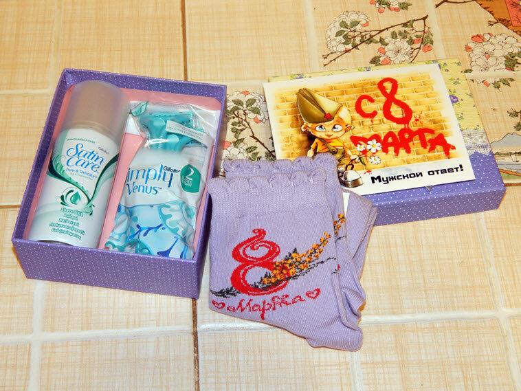 Топ странных подарков, полученных дамами на 8 Марта