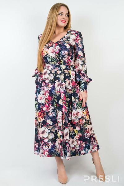 Весна 2020: обворожительные платья для полных дам