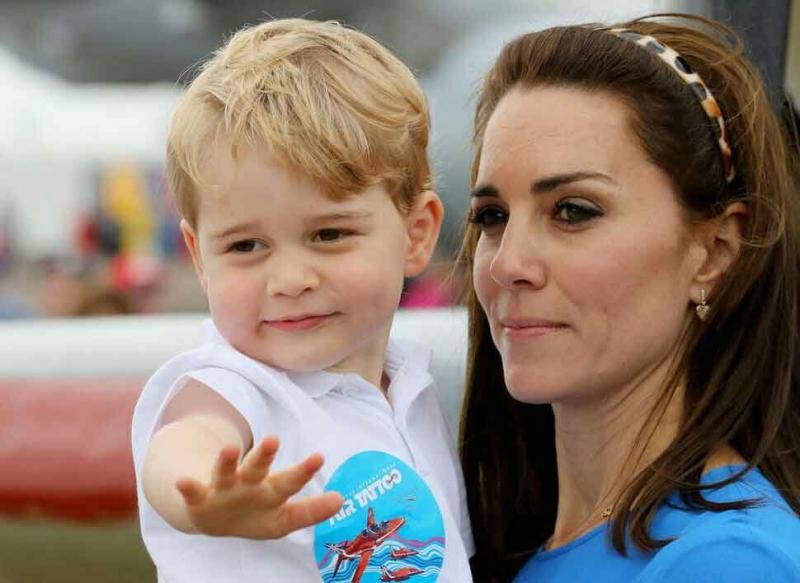 Герцогиня Кейт была изолирована после рождения принца Джорджа