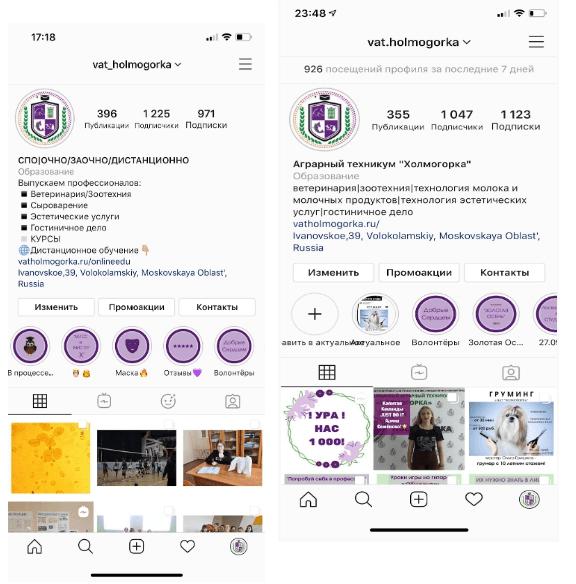 Кейс: как вести аккаунт техникума в Instagram, привлекая клиентов на онлайн и офлайн программы
