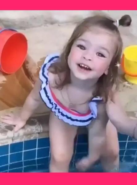 Не детское поведение дочки Ольги Рапунцель удивило пользователей сети