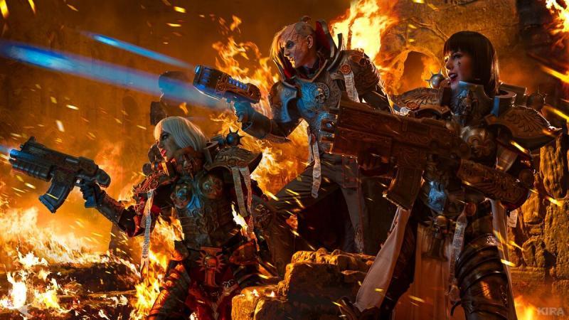 Warhammer 40000: Масштабный cosplay