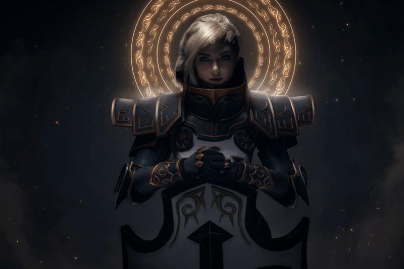 Женский косплей по играм Blizzard