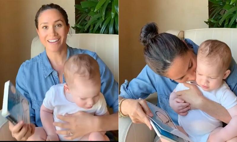 Арчи Харрисону год: Меган Маркл выложила новое фото и видео с сыном