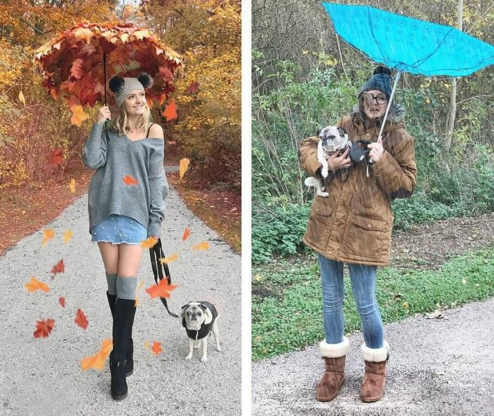Инстаграм-блогер высмеивает идеальные фото, показывая насколько они далеки от суровой реальности