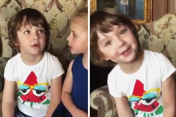 Как дети Галкина и Пугачёвой поздравляли Филиппа Киркорова - редкие ФОТО