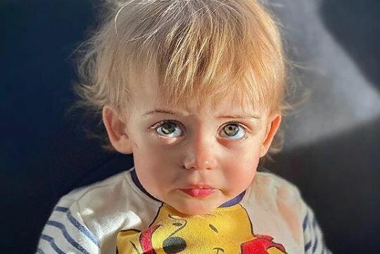 Как выглядит подросший сын певицы Тани Терешиной - мальчик с невероятно большими глазами