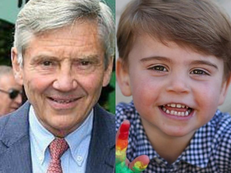 """""""Кейт Миддлтон и Чарльз: Принц Луи похож на Майкла Миддлтона"""", пишет британская пресса"""
