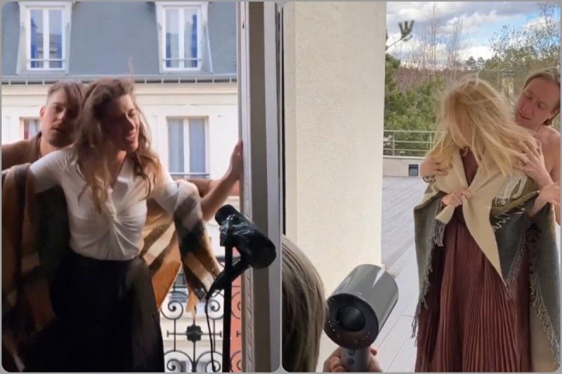 Своей головы нет: Рудковская крадет идеи для «Инстаграм» у блогера из Франции