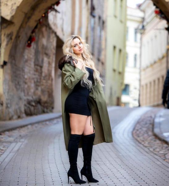 Неринга Крижюте – талантливая литовская художница и Instagram-модель