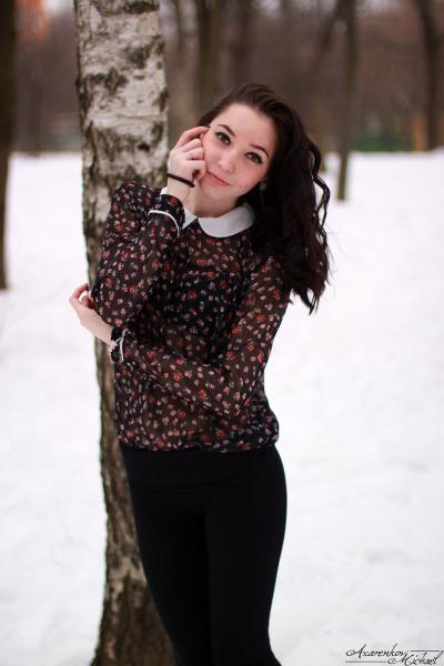 Очаровательные девушки, зимняя фотосессия и женская дружба. Часть 2.