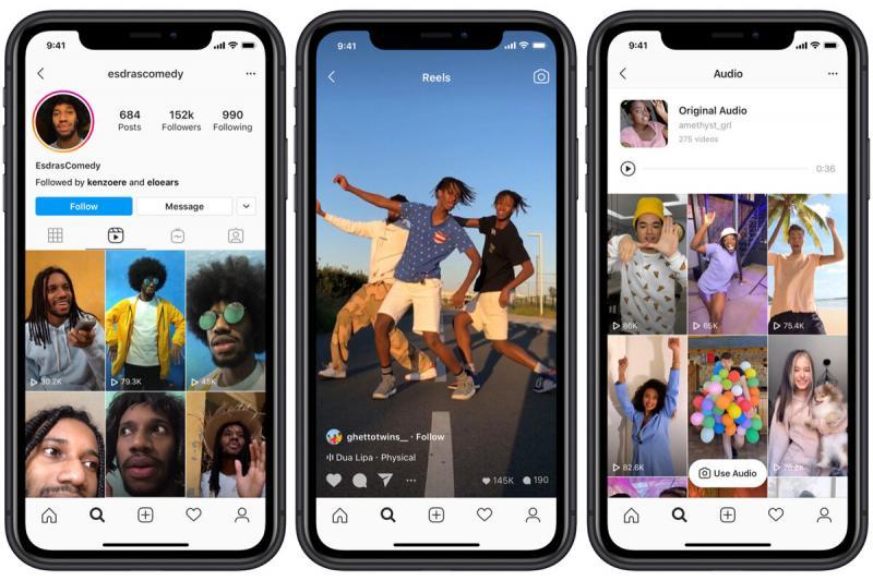 Instagram Reels — ещё один конкурент TikTok заработает в августе