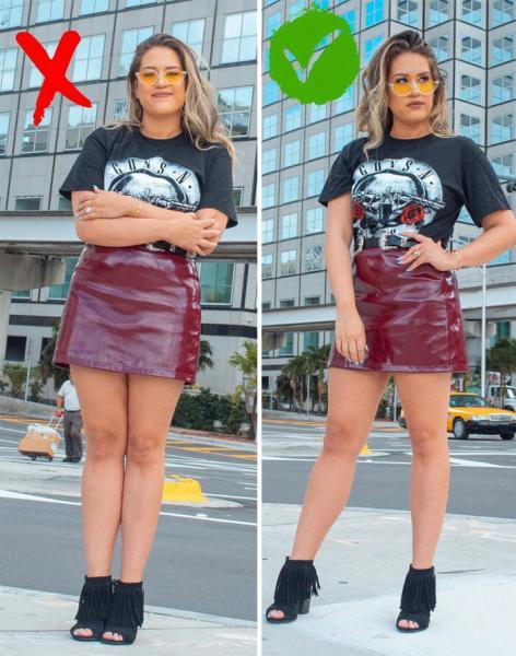 Как лучше выглядеть на фото: наглядные примеры от девушки-блогера