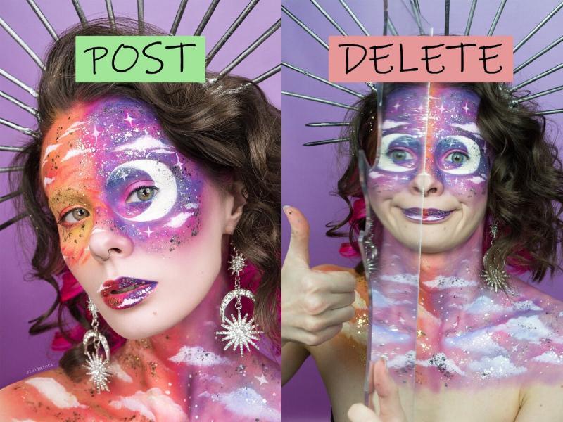Креативное фото в инстаграм: ожидание и реальность