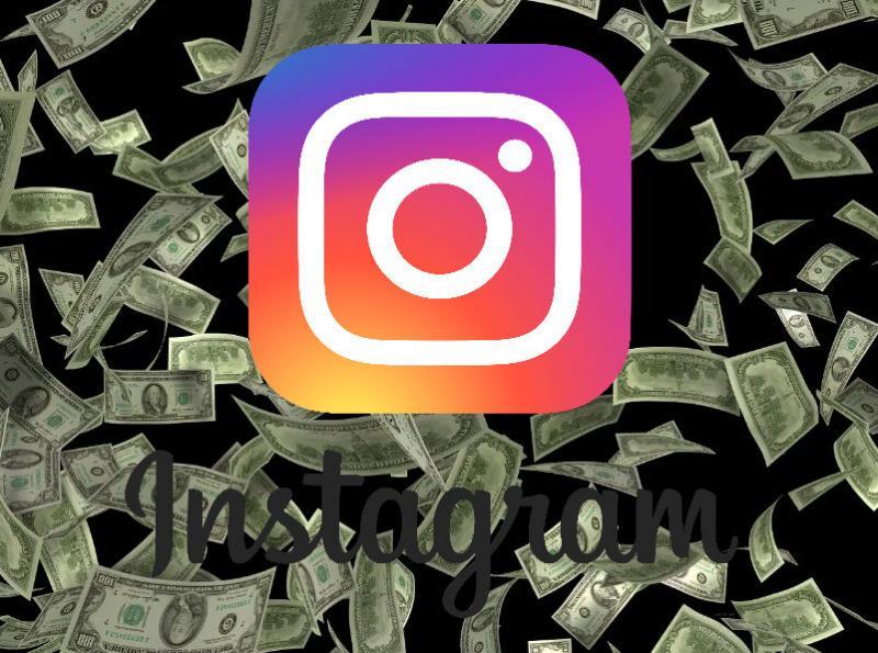 Заработок в интернете, сколько денег приносит instagram