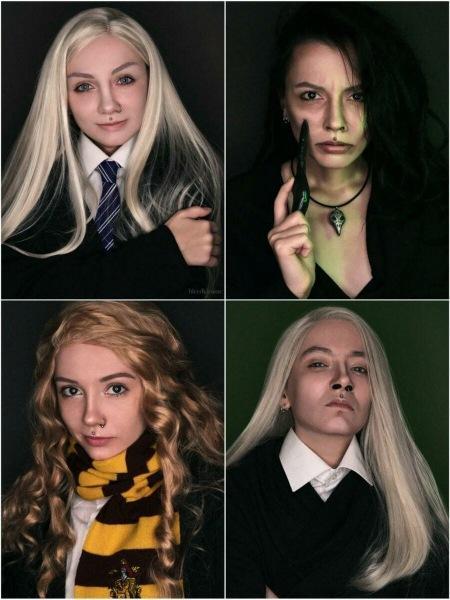 Делаю косплей на персонажей из Гарри Поттера