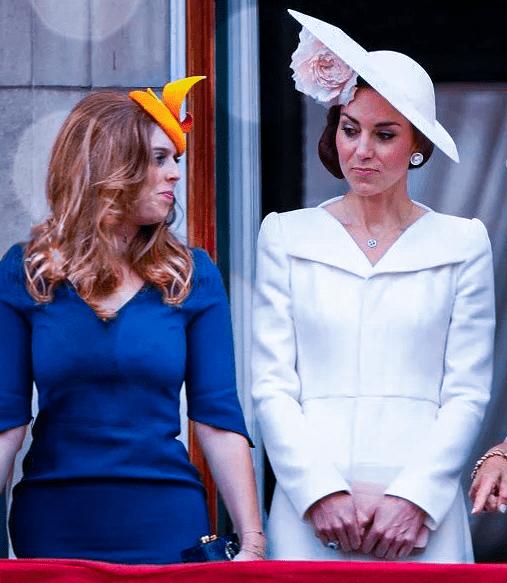 """Кейт и принцесса Беатрис: причины их """"прохладных"""" отношений"""