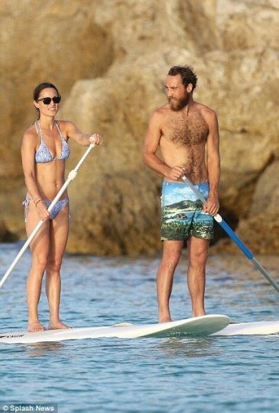 Пиппа Миддлтон с семьёй на морском отдыхе, как она выглядит без фильтров