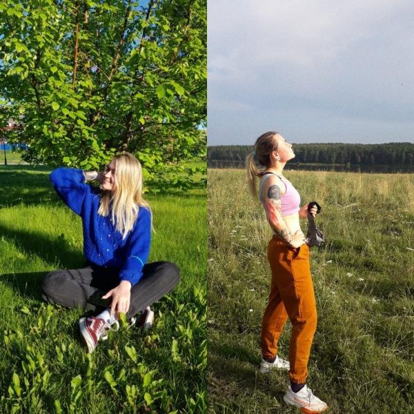 В 20 лет Регина весила 90кг, а в 21 стала моделью и блогером в инстаграме (Фото До и После)