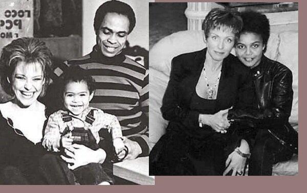 Как выглядит сноха Ирины Понаровской - жена ее темнокожего сына