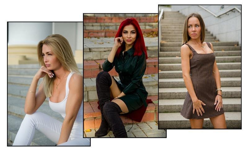 Три самые красивые, стройные и спортивные модели принимавшие участие в моих фотосессиях