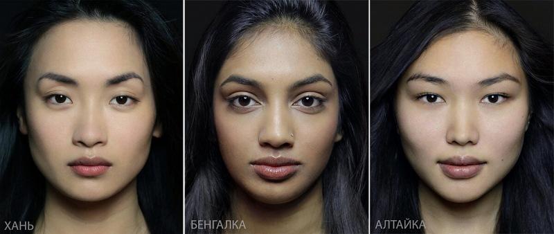 Самые красивые женщины со всего мира