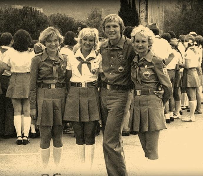 В СССР были веселые, красивые и жизнерадостные девушки