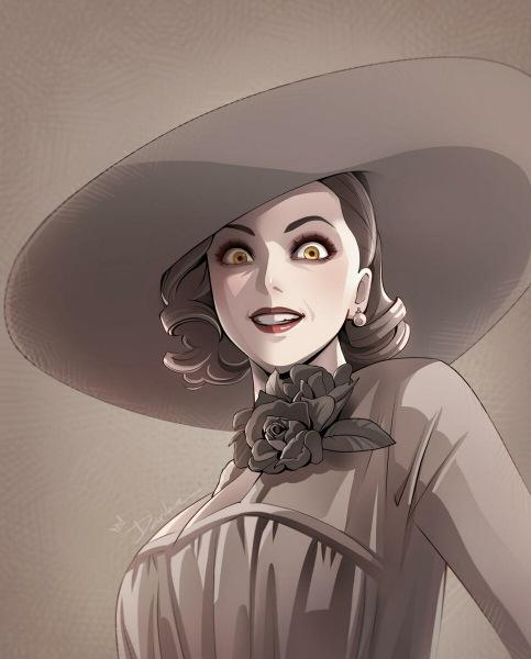 Леди Димитреску: «Баба моего масштаба». На ком основан образ злодейки?