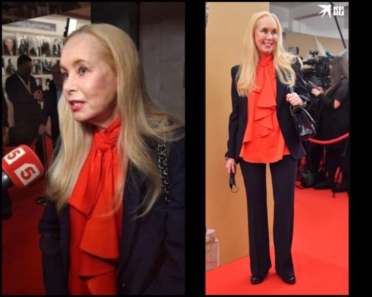 Шаровары Старшенбаум и идеальный образ Ходченковой: наряды актрис на премии «Золотой Орел-2021»