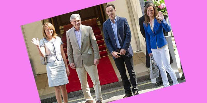 Уильяму и Кейт ближе семейство Мидлтонов, чем королевская семья