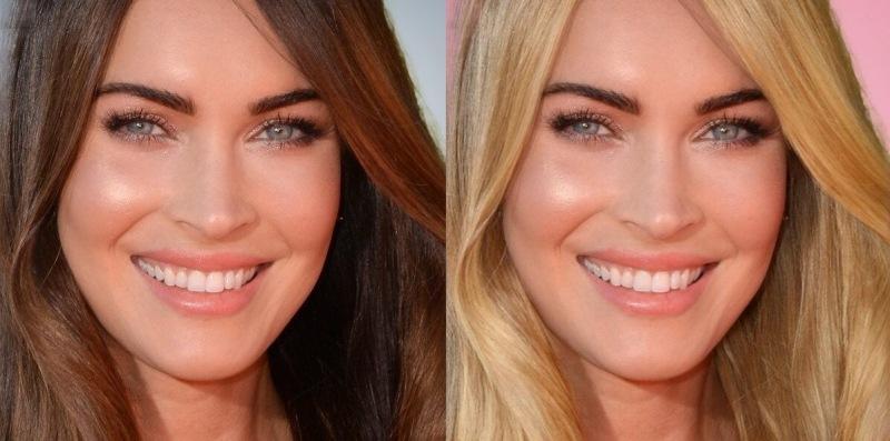«Превратила» актрис-брюнеток в блондинок: получились дивные красавицы