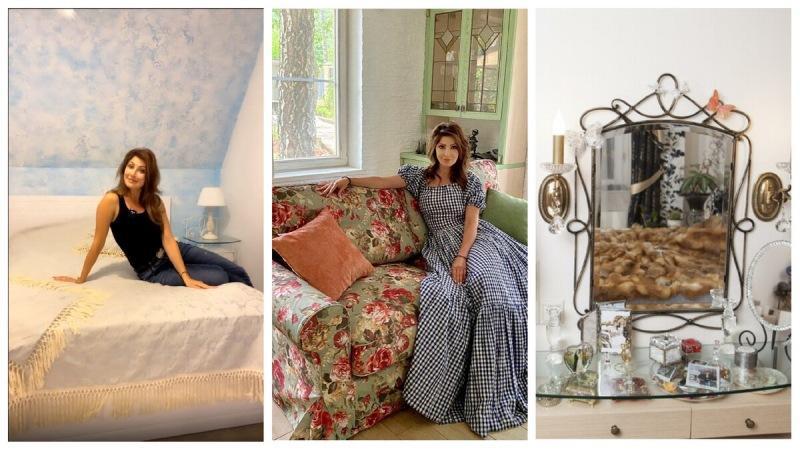 Где живет актриса Анастасия Макеева. Дизайнерская квартира на Лосином острове и поместье в стиле «прованс»