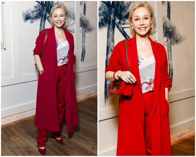 Лолита «вобтяжечку» и 50 оттенков красного Зудиной: наряды звезд на премьере фильма «Скажи ей»