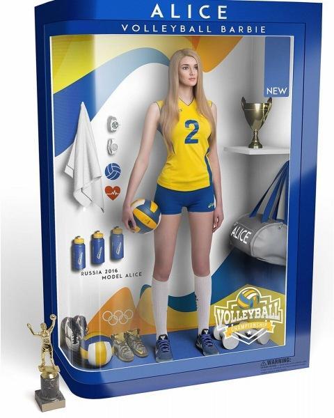 В России живет девушка, которую назвали самой красивой волейболисткой мира. Мы с международным жюри согласны