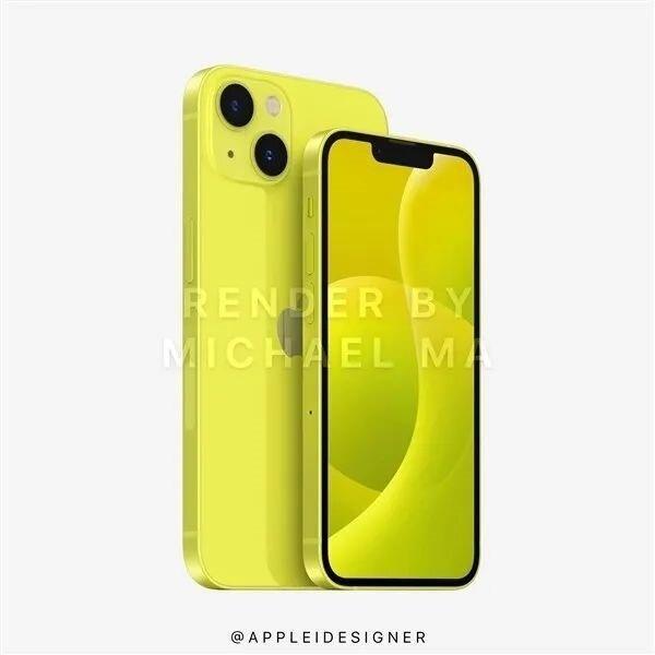 iPhone 13, iPhone 13 Pro и iPhone 13 mini в девяти разных цветах показали на качественных изображениях