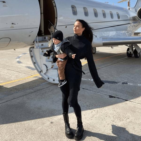 Анастасия Решетова отдала сына Тимати