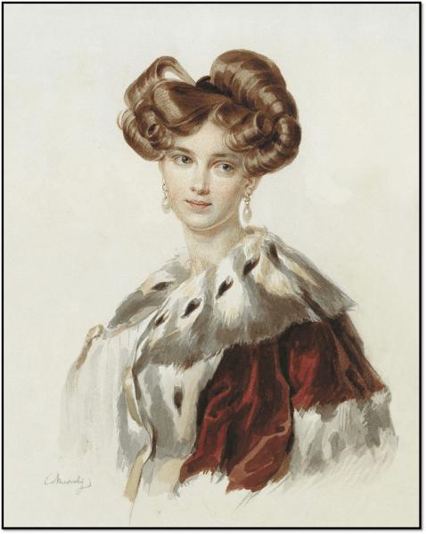 Красивые женщины 19 века