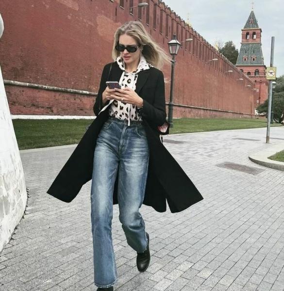 Пальто, тренчи, косухи: в чем Кети Топурия, Лиза Галкина, Наталья Водянова и другие ходят этой осенью
