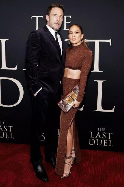 Джоди Комер в Bvlgari на премьере фильма «Последняя дуэль» в Нью-Йорке